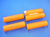 2 kennoston setti: Electrolux Ergorapido CT180Li 18V 2500mAh Li-Ion